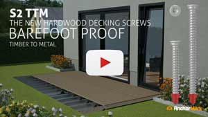 Watch the Demo Video S2 TTM Decking Screws